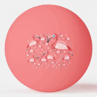 Flamingo Ping Pong Ball