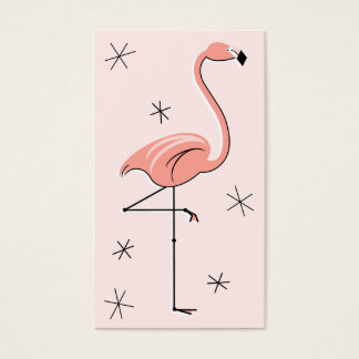Flamingo Pink business card