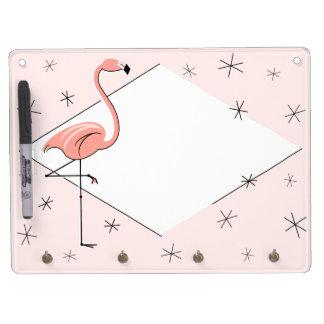 Flamingo Pink Diamond keychain board