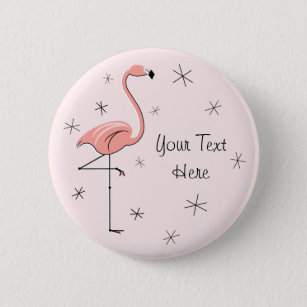 Flamingo Pink 'Text' button
