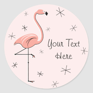 Flamingo Pink Text sticker