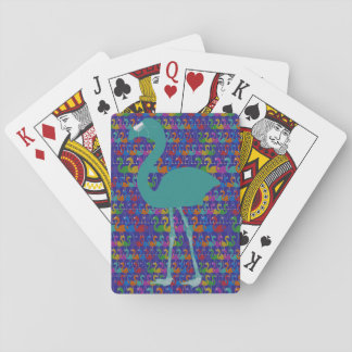 Flamingo Playing Cards (Teal/Purple)