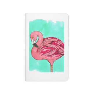Flamingo pocket journal