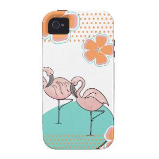 Flamingo Poolside iPhone 4 Case