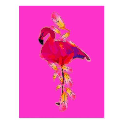 Flamingo Post Card