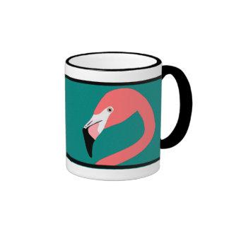 Flamingo Ringer Mug