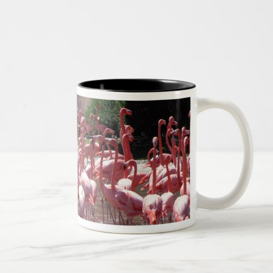 Flamingo Road Two-Tone Coffee Mug