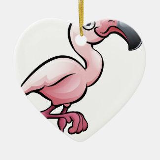 Flamingo Safari Animals Cartoon Character Christmas Ornament
