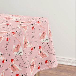 Flamingo Santas Pink Multi tablecloth