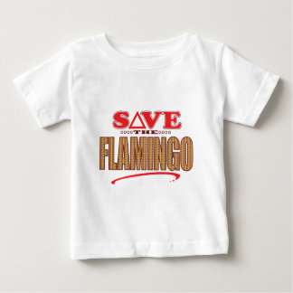Flamingo Save Baby T-Shirt