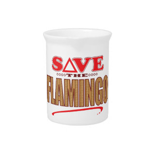 Flamingo Save Pitcher