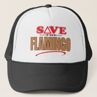 Flamingo Save Trucker Hat