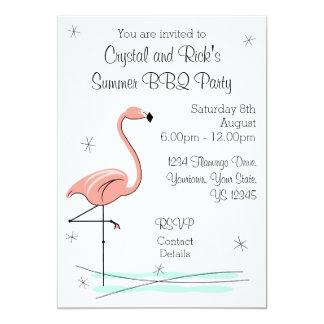 Flamingo Side Multi back invitation