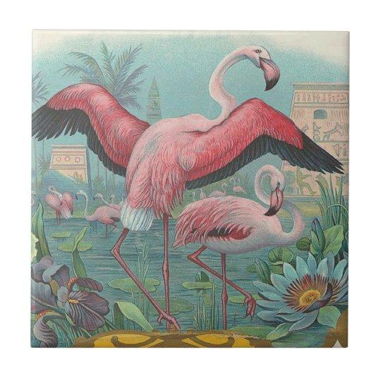 Flamingo Small Square Tile