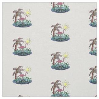 Flamingo Sunny Days Fabric