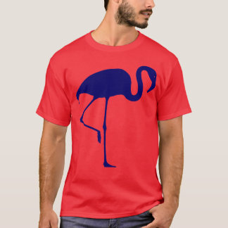 Flamingo T-Shirt Blue