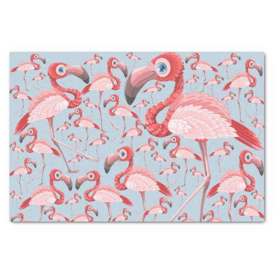 Flamingo Tissue Paper