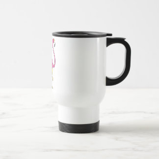 flamingo travel mug