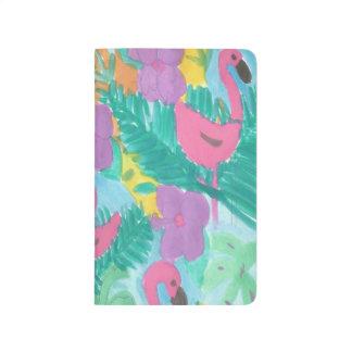 Flamingo Tropical Jungle Journal