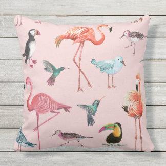 Flamingo Tropical outdoor   Pillow