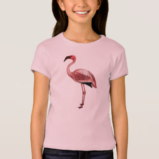 Flamingo vintage illustration T-Shirt