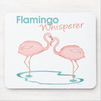 Flamingo Whisperer Mouse Pad