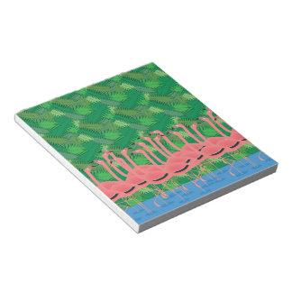 Flamingoes on Parade Notepad