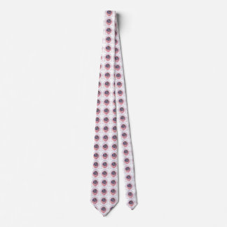 Flamingos by the Sea Tie Two