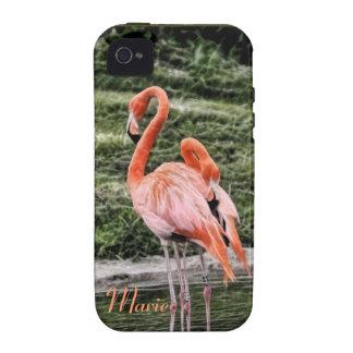 Flamingos iPhone 4 Cases