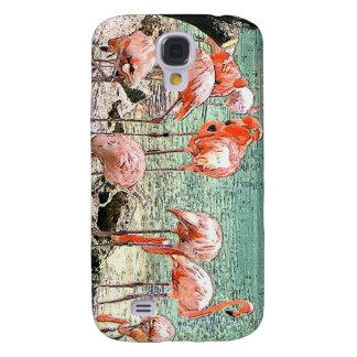 Flamingos Galaxy S4 Covers