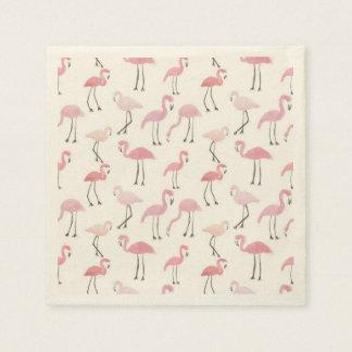 Flamingos Disposable Napkins