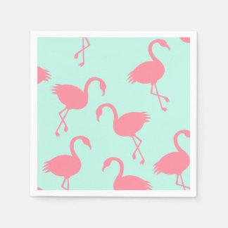 Flamingos Disposable Serviettes