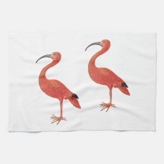 Flamingos - Fine Art Kitchen Towel