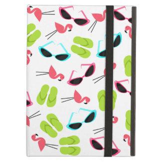 Flamingos & Flip Flops iPad Case With Kickstand