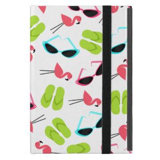Flamingos & Flip Flops iPad Mini Case w Kickstand