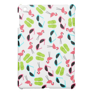 Flamingos Flip Flops & Sunglasses iPad Mini Case