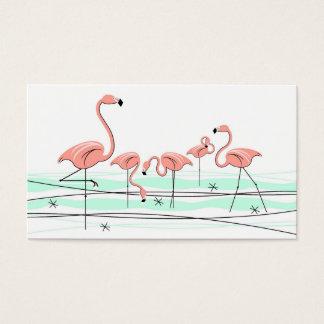 Flamingos Group business card