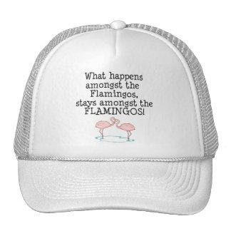 Flamingos Mesh Hats