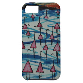 Flamingos in salty lake case for the iPhone 5