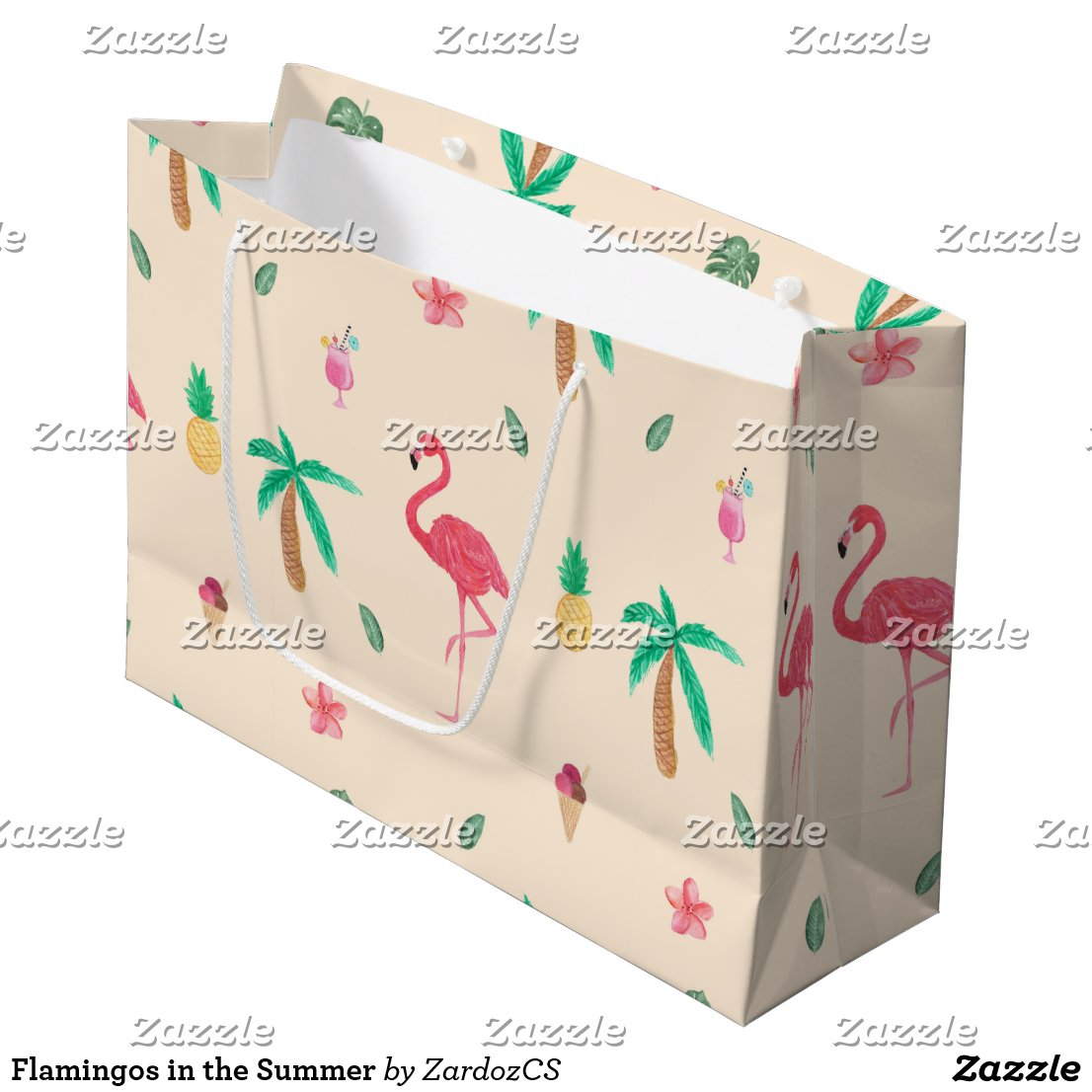 Flamingos in the Summer Gift Bag