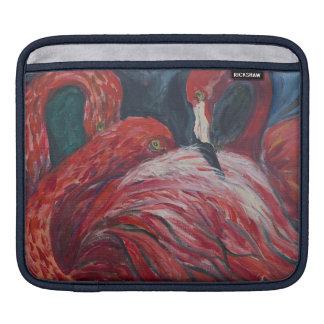 Flamingos iPad Sleeve