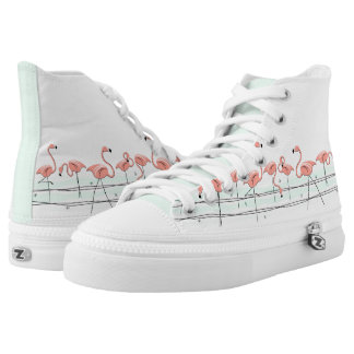 Flamingos Line hi top shoe