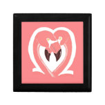 Flamingos Love Gift Box