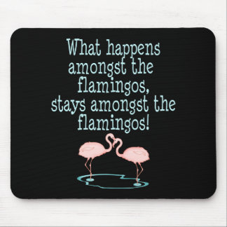 Flamingos Mouse Mat