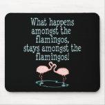 Flamingos Mousemat