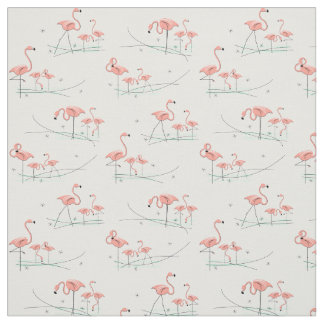 Flamingos Multi fabric
