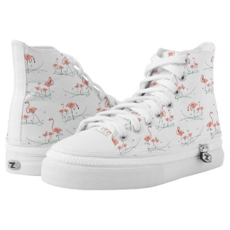 Flamingos Multi hi top shoe