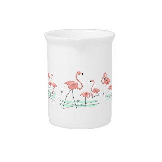 Flamingos Multi Large pitcher