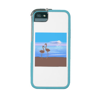 Flamingos On The Beach Case For iPhone 5/5S