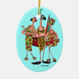 Flamingos Ornament